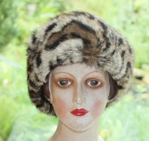 Fur Hat multicolored pelt