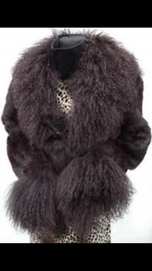 Echt Pelz aus Lama und Hase