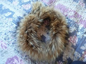 Echt Pelz Fuchs FOX Schal Kragen für Mantel&Jacke