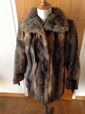 Echt Pelz Jacke Vintage Top Zustand fuchs? 38/40