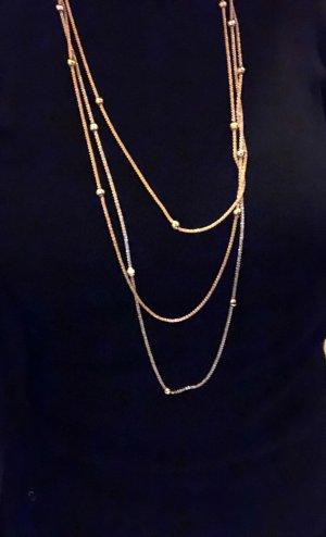 Silver Chain gold-colored-silver-colored