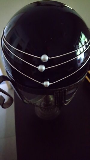 echt Silber 925 Kette mit  Perlen