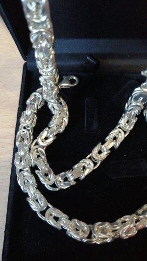 Echt Silber 925 Königskette Unisex Neu mit Verpackung