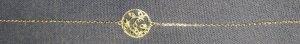 Bracelet en argent noir-argenté