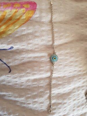 Echt Silber Armkette (Auge)