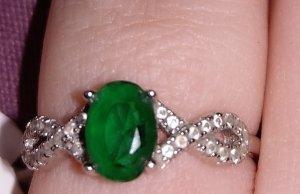 Cadena de eslabón verde
