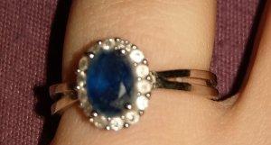 Cadena de eslabón azul