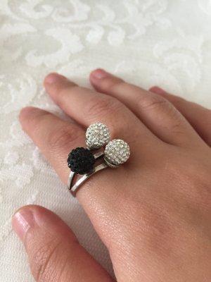 Echt Silber Ring Kugel
