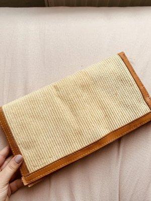 Echt Vintage Clutch Tasche Cord
