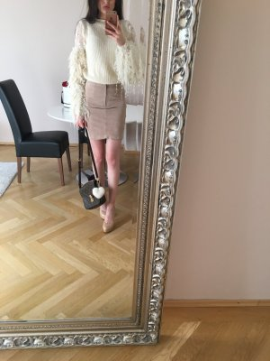 Vila Leather Skirt multicolored suede