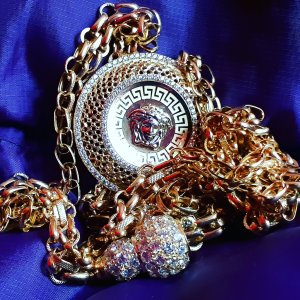 Versace Collana oro