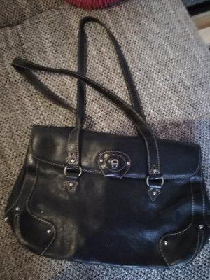 Echte Aigner Tasche aus Leder