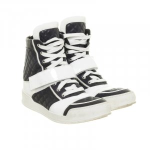 Echte Balmain Designer Sneakers blau-weiß