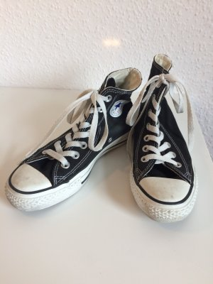 Echte Converse in Schwarz