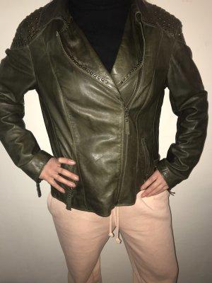 Echte Damen Leder Jacke