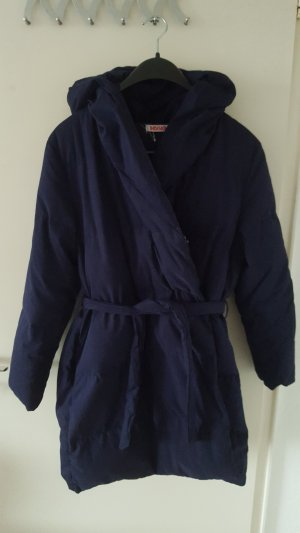 Indiska Down Coat dark blue