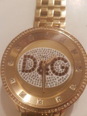 Dolce & Gabbana Horloge met metalen riempje goud Goud