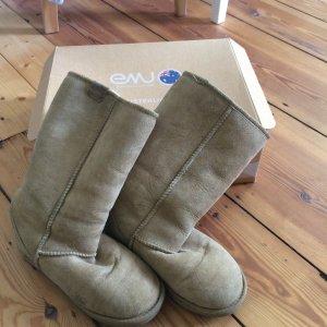 Echte EMU UGG Boots, beige, 38