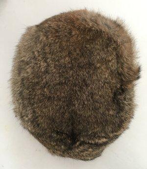 Fur Hat multicolored fur