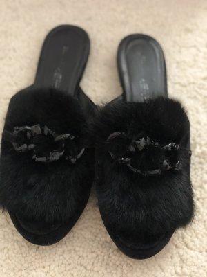 Echte Fell Schuhe