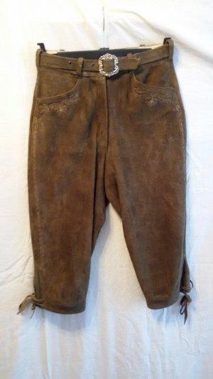 Pantalon bavarois brun cuir