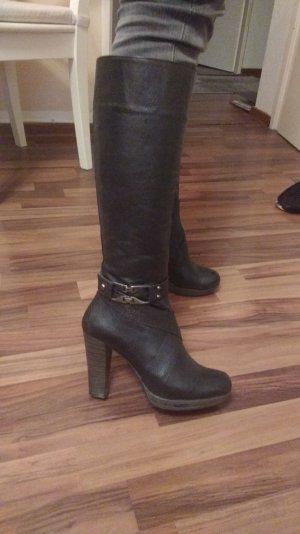 Echte Leder italienische Stiefel