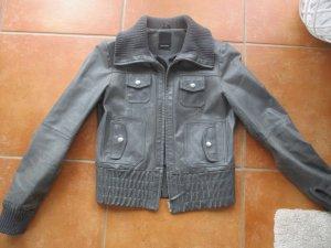 Echte Lederjacke Gr.36 bzw S von Vero Moda