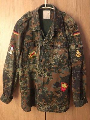 Chaqueta militar multicolor