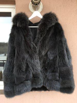 Echte Pelzjacke Pelzmantel wie neu oversized weich Winter