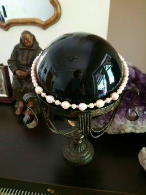Echte  perlen ,mit 585 gold verschluss