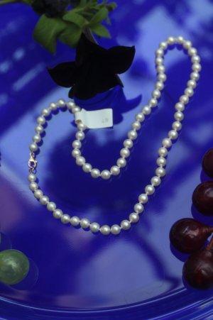 echte Perlen * Perlenkette * Verschluß Gold 585 * nie getragen * NEU MIT ETIKETT *