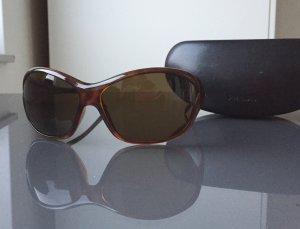 Prada Zonnebril donkerbruin-zwart bruin