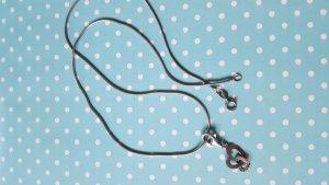 Echte Silberkette mit Herzanhänger