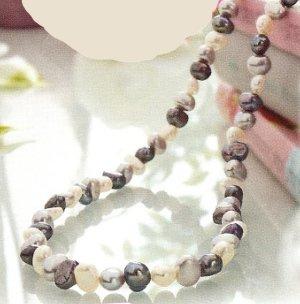 Echte Süsswasser Perlen Kette auch als Armband zu tragen
