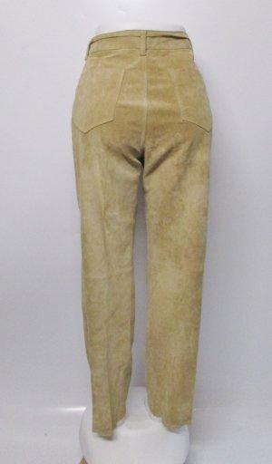 Biba Pantalone in pelle multicolore Pelle