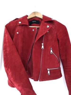Vero Moda Biker Jacket red-dark red