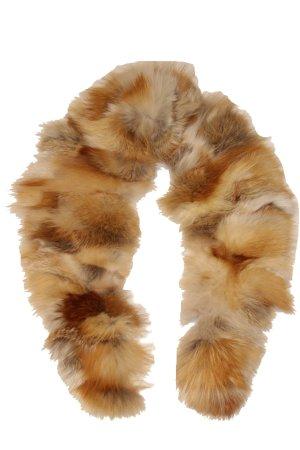 Écharpe marron clair fourrure