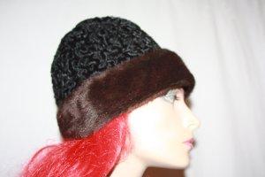 Echter Pelz Hut Zarenmütze Persianer Vintage