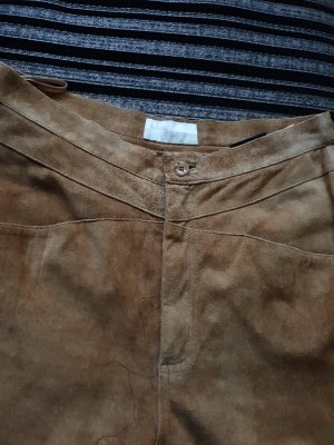 .Onorati Leather Trousers light brown