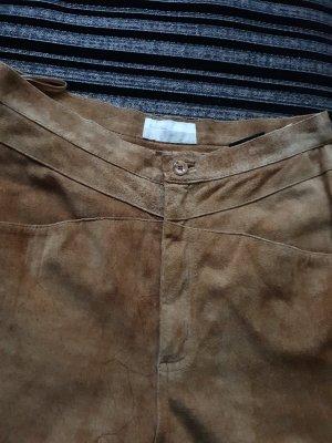 .Onorati Pantalon en cuir marron clair