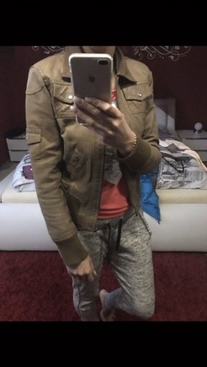 Echtes Leder Jacke