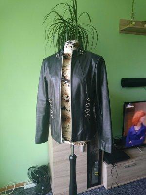 echtes Leder Jacke, gr.36 neuwertig