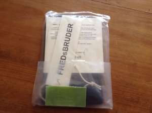 Echtes Leder! Neue Smartphonehülle Orginalverpackung von Freds Bruder