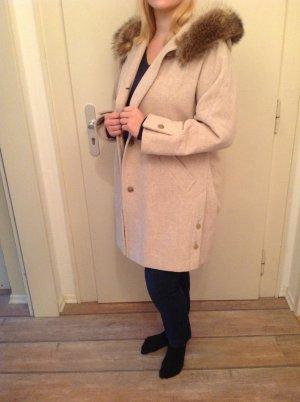 Pelt Coat multicolored cashmere