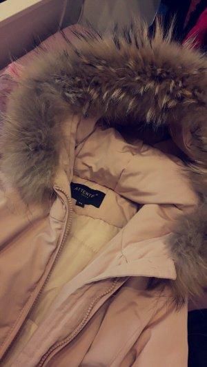 Attentif Chaqueta de invierno rosa claro