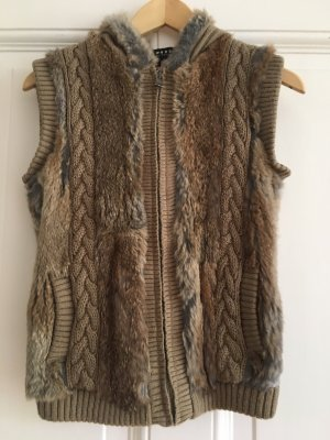 Oakwood Fur vest camel