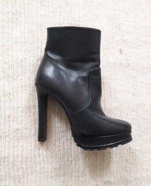 Echtleder Ankle Boot High Heel