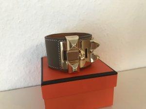 Echtleder Armband Collier de chien like Hermes