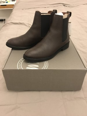 H&M Premium Chelsea Boots brown-light brown
