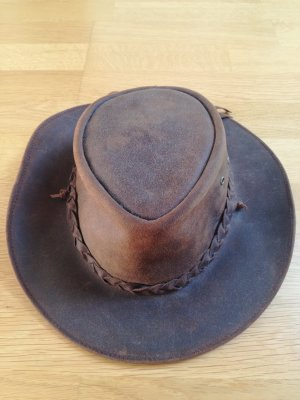 Cowboy Hat multicolored leather